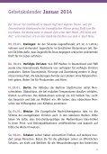 Gebetsheft 1. Quartal 2014 - Deutsche Evangelische Allianz - Seite 3
