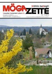 Nr. 1/ 2013 - Gewerbeverein Möhlin und Umgebung