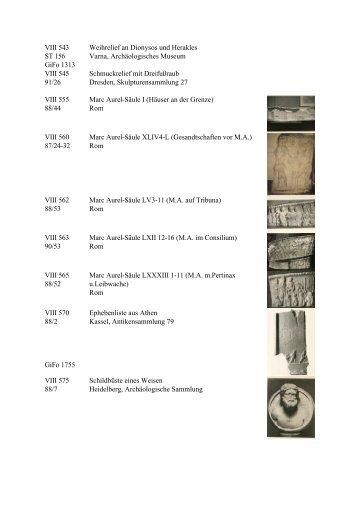 Reliefs & Architekturplastik II - Userpage
