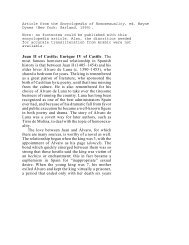 Juan II and Enrique IV, an article from the Encyclopedia of ...