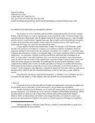 La actitud de Cervantes hacia sus antepasados judaicos - IPFW