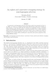 An explicit and conservative remapping strategy for semi ...