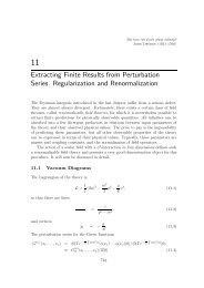 Extracting Finite Results from Perturbation Series. Regularization ...
