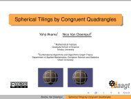 Spherical Tilings by Congruent Quadrangles