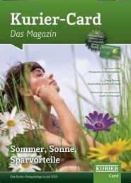 Sommer, Sonne, Sparvorteile Das Magazin - Verlagsbeilagen des ...