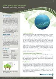 Klimaschutzprojekte - Vereinigte Stadtwerke GmbH