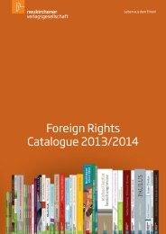Foreign Rights Catalogue 2013/2014