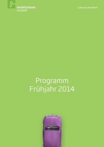 Programm Frühjahr 2014