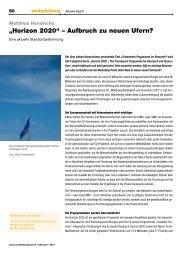 Horizon 2020 - Verwaltung - Universität zu Köln