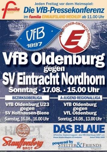 SV Eintracht Nordhorn - VfB Oldenburg