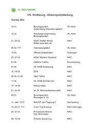 Planungen 2014 als Download - Vfl-wob.de
