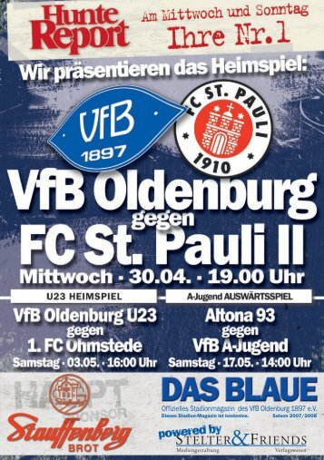 FC St. Pauli Amateure - VfB Oldenburg