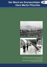 49 Der Mord am Grenzschützer Hans Martin Plüschke - Via Regia