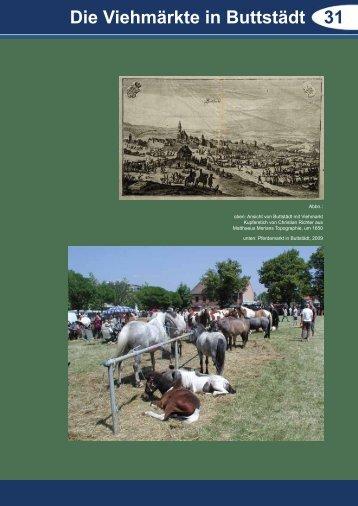 Die Viehmärkte in Buttstädt 31 - Via Regia