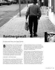 Rentnergewalt - Hinterland Magazin
