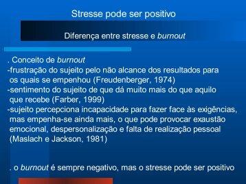 Stresse-Conceito e avaliação