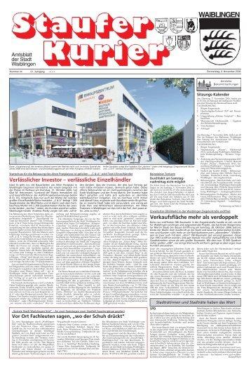 Ausgabe Nr. 44 (Do, 2. November 2006) - Stadt Waiblingen