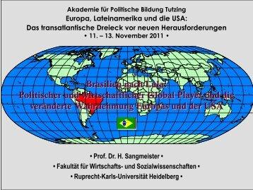 Brasilien - Akademie für Politische Bildung Tutzing