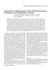 Alterations in Habituation.pdf. - University of Kentucky