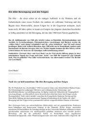 68 Bewegung - Evangelische Akademie Tutzing