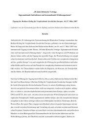 """""""50 Jahre Römische Verträge. Supranationale Institutionen und ..."""