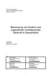 Beschulung v. Kindern und Jugendlichen.pdf - Freie Universität Berlin