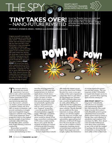 Tiny Takes Over - Nano-Future Revisited