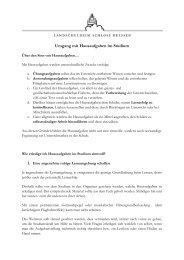 7. Umgang mit Hausaufgaben im Studium