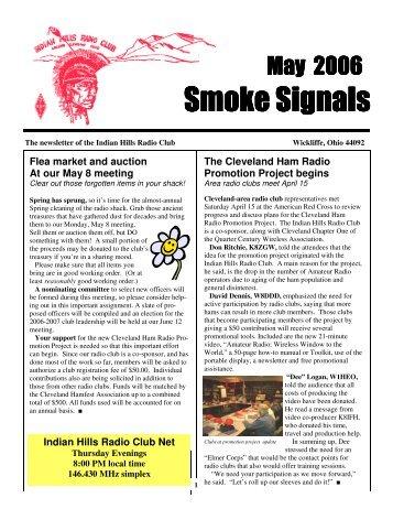 May 2006 Smoke Signals - Hamfest Association of Cleveland, Inc.