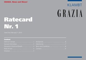 Ratecard Nr. 1 - Klambt-Verlag