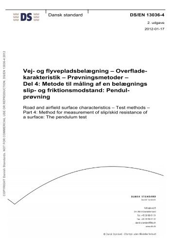 EN ISO 13688 - Danish Standards Webshop - Dansk Standard