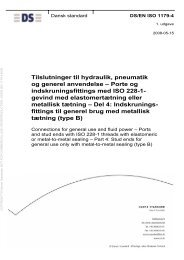 EN ISO 1179-4 - Danish Standards Webshop - Dansk Standard