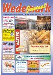 mihair:oase - Wedemark Journal und Kulturjournal190