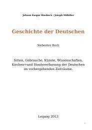 Geschichte der Deutschen - Welcker-online.de
