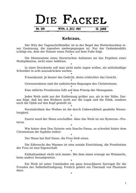 Kehraus. - Welcker-online.de