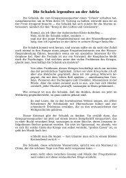 Die Schalek irgendwo an der Adria - Welcker-online.de