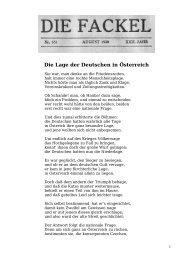 Die Lage der Deutschen in Österreich - Welcker-online.de