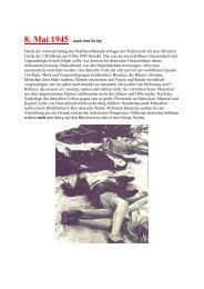 8. Mai 1945 - nach dem Krieg! Durch die ... - Wemepes.ch