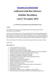 Aufbruch Gold-Rot-Schwarz Alsfelder Beschlüsse ... - Wemepes.ch