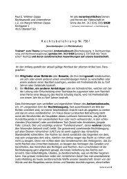 Traktat zum Thema Rechtbeugung - Wemepes.ch