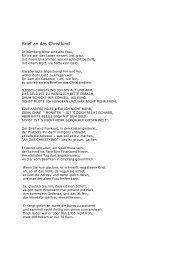 Brief an das Christkind - Wemepes.ch