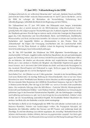 17. Juni 1953 – Volkserhebung in der DDR - Wemepes.ch