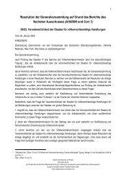 Resolution der Generalversammlung auf Grund des ... - Wemepes.ch