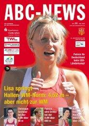 Lisa springt Hallen-WM-Norm: 4,52 m – aber ... - ABC Ludwigshafen