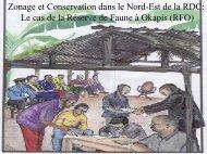 Zonage et Conservation dans le Nord-Est de la République ...