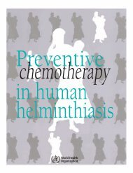 Preventive chemotherapy in human helminthiasis - libdoc.who.int ...