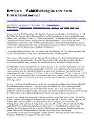 Bewiesen – Wahlfälschung im vereintem ... - WordPress.com
