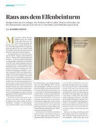 Raus aus dem Elfenbeinturm - Universität Paderborn