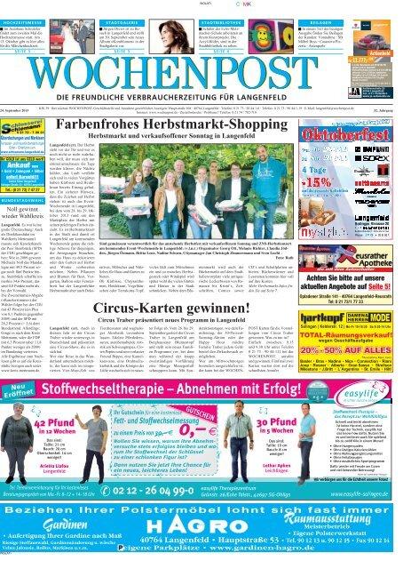 Langenfeld 39-13 - Wochenpost