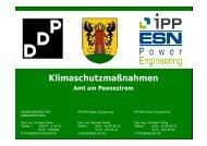 Zusammenfassung Klimaschutzmaßnahmen - Stadt Wolgast